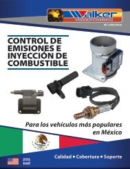 Catalogo Control de Emisiones e Inyección de Combustible