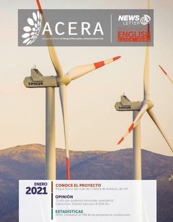 Newsletter ACERA - Enero 2021