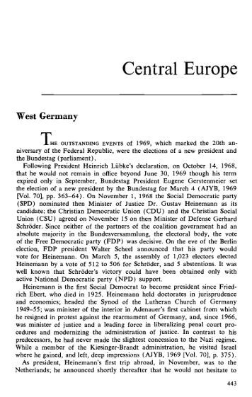 Central Europe (1970) - AJC Archives