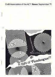 CAACT Newsletter September '71