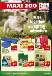 Maxi Zoo Flyer March 2021
