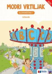 Vzorčna vsebina: Slovenščina 1 UČB