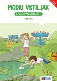 Vzorčna vsebina: Spoznavanje okolja 1 UČB