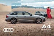 Audi A4 Verkaufsunterlagen