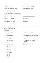 Protokoll 10.09.2003 - Amt Bad Oldesloe-Land