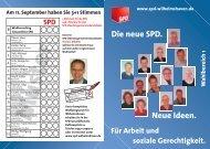 WB 1 Süd - SPD Wilhelmshaven