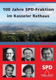 100 Jahre SPD-Fraktion - SPD-Fraktion Kassel