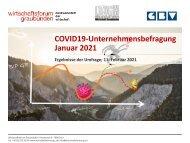 Covid19-Unternehmensbefragung Januar 2021