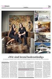 Sonntagszeitung Tagi Zürich -Daheim-