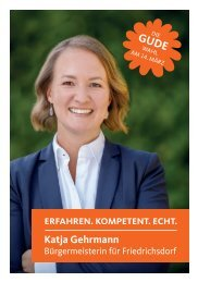 Themenbroschüre Katja Gehrmann