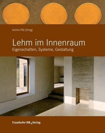 Lehm im Innenraum - Bau-Satz | Architektur-Journalismus