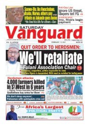 13022021 - We'll retaliate - Fulani Association Chair