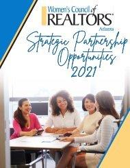 Women's Council - Atlanta Strategic Partnership Opportunities 2021 - Tier 2