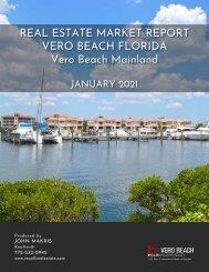 Vero Beach Mainland Real Estate Market Report January 2021