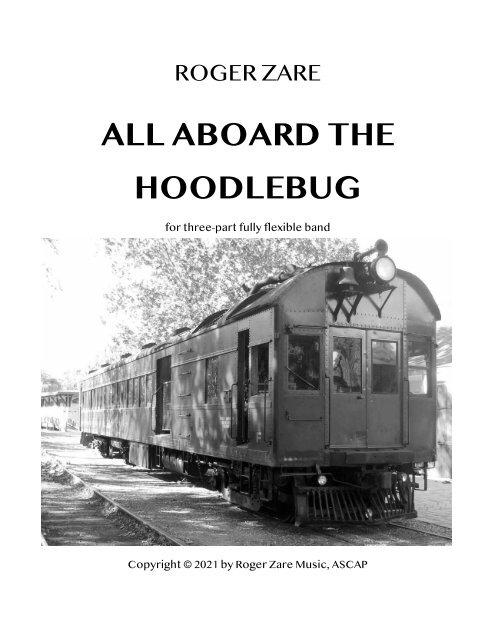 Zare - All Aboard the Hoodlebug