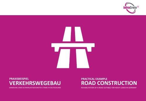 InfraCrete Practical Example - Road Construction