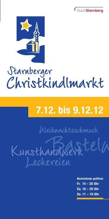 Kunsthandwerk Kunsthandwerk Handwerk ... - Stadt Starnberg