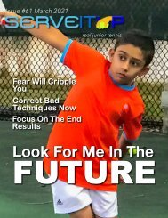 Serveitup Tennis Magazine #61