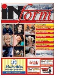 INform Ausgabe 1 in 2021 · 17 Februar
