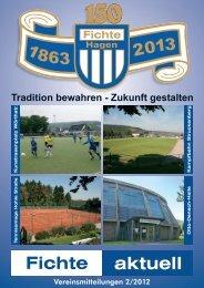 Vereinsmitteilungen 2/2012 - TSV Fichte Hagen 1863 e.V.