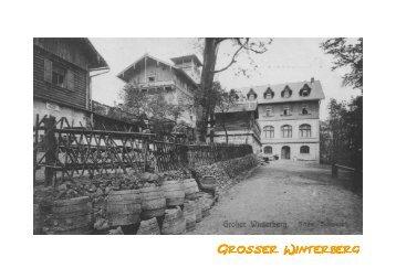 Speisekarte Winterberg - Berghotel Großer Winterberg