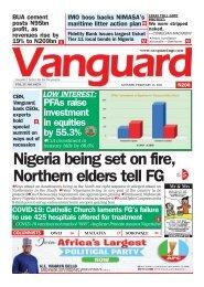 15022021 - Nigeria being set on fire, Northern elders tell FG