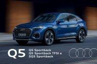 Audi Q5 Sportback Verkaufsunterlagen