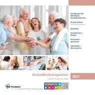 Gesundheitswegweiser Landkreis Vorpommern-Rügen 2021