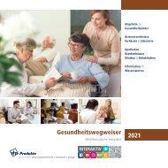 Gesundheitswegweiser Mecklenburgische Seenplatte 2021
