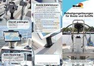 Brodit Befestigungslösungen für Boote und Schiffe