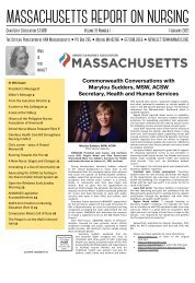 Massachusetts Report on Nursing - February 2021