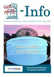 GymMeck-Info Nr. 88 - Februar 2021