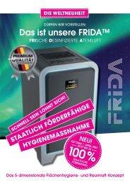 FRIDA Informationsbroschüre