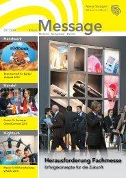 Message Ausgabe 3/2010 - Messe Stuttgart