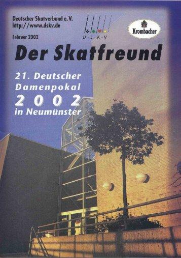 Page 1 Page 2 Vorständeturnier Liebe Skatfreunde, Unser 4 ...