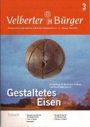 VB Maerz 2012 kl.pdf - ARGE Velberter Bürgervereine