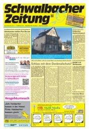 Schwalbacher Zeitung Ausgabe Kw 7-2021