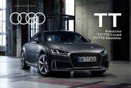 Audi TT Verkaufsunterlagen