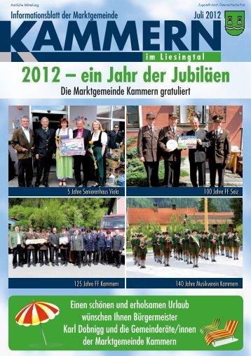 gemeindezeitung juli 2012.pdf - Gemeinde Kammern im Liesingtal