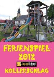 Ferienspielheft 2012