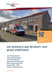 Bewonersboekje Jan de Rooijstraat