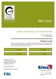 We-Care-Zertifikat