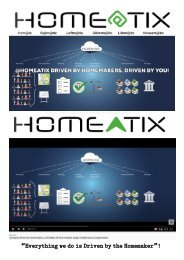 Homeatix where the Customer Imagineers the Place.