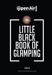 Little Black Book of Glamping 2021