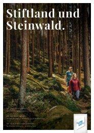 Stiftland Steinwald Imagebroschüre 2021