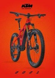 KTM E-Bikes & Fahrräder2021