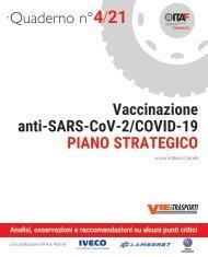 Quaderno n° 4/21 Vaccinazione anti-SARS-CoV-2/COVID-19 PIANO STRATEGICO