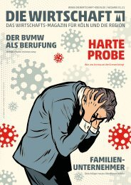 Die Wirtschaft Köln - Ausgabe 01 / 2021