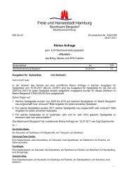 Freie und Hansestadt Hamburg - SPD-Fraktion Bergedorf