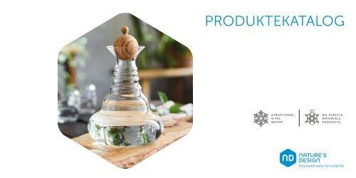 Nature's Design Produktekatalog Deutsch